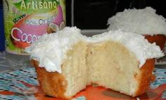 The Ultimate Quintuple Coconut Cupcakes