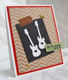 Reverse Confetti | Inner Rock Star [Just Because, Friendship, Thinking of You Card]