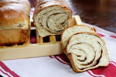 brown sugar cinnamon swirl bread