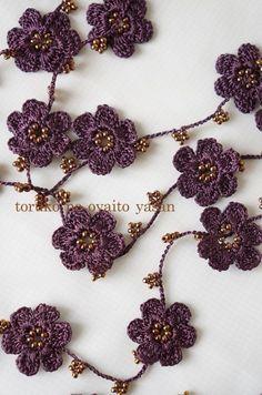 画像1: A トゥーオヤの小花ラリエット