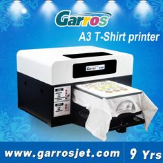 Garros Desktop Small Size For Any Color Fabric(White/Black Etc) T Shirt Printing Machine, Dtg Printer T Shirt Printing Machine, Custom T Shirt Printing, Printing On Fabric, 3d T Shirts, Cheap T Shirts, Custom Shirts, Laser 3d Printer, Printer Price, 3d Printing Business