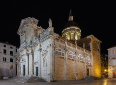Cathederal of the Asumption of Mary Dubrovnik   Dubrovnik Travel Blog
