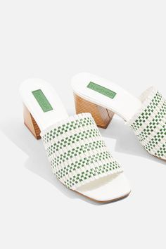 404e2955ff8151 Nadia Woven Mules - Shoes