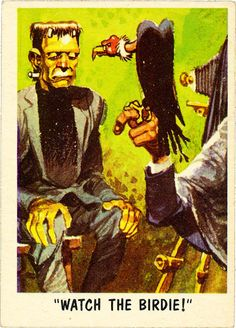 You'll Die Laughing: MAD artist Jack Davis' wonderfully funny horror trading cards Ec Comics, Horror Comics, Halloween Art, Halloween Humor, Halloween Pictures, Famous Monsters, Scary Monsters, Jack Davis, Funny Horror