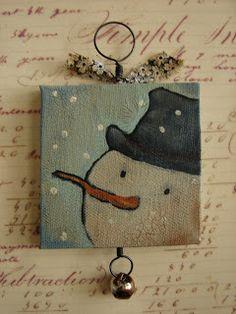 Laura Belles Folk Paperdolls: ~New Christmas Ornies~