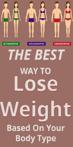 How To Lose Weight Based On The Type Of Your Body - misc - health Body Fitness, Fitness Diet, Wellness Fitness, Losing Weight Tips, Ways To Lose Weight, Weight Loss Tips, Health And Fitness Tips, Health And Beauty Tips, Health Tips