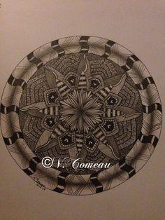 My first real attempt at a Mandala My Drawings, Mandala, Mandalas, Coloring Pages Mandala
