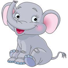 cute+clip+art+babies | Baby Elephant Page 3 - Cute Cartoon Elephant Clip Art