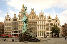 Antwerp Belgium an amazing community spirit where the average person speaks five languages.