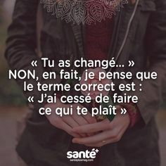 Liebevoll ja nett ja bei der Sache ja Gourdes s The Words, Cool Words, Some Quotes, Words Quotes, Sayings, Positive Mind, Positive Attitude, Dont Be Normal, French Quotes