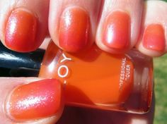 Gradient Manicure using the Zoya Nail Polish Blogger Collection by Birchbox colors!