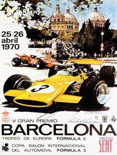 Grand Prix Barcelona Formula 2 and 3 1970