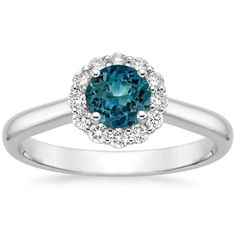 18K+White+Gold+Sapphire+Lotus+Flower+Diamond+Ring+(1/3+ct.+tw.)+from+Brilliant+Earth