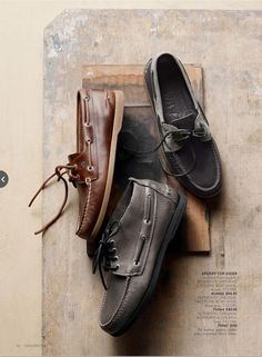 mens shoes on textured bkgds