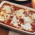 Tomato and Mozzarella Lasagne