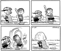The catcher is blind!
