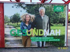 1172. - Plakat in Stockach. / 21.05.2017./