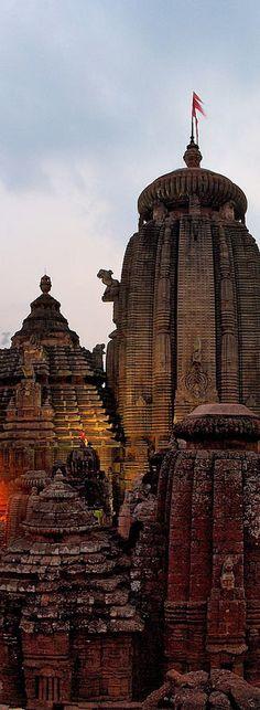 Lingarah Temple Road Old Town - Bhubaneswar Odisha | India
