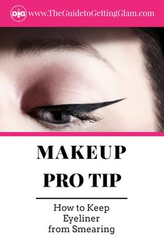 I'm often asked how to keep eyeliner from smearing. Here are my makeup artist tips to keep eyeliner from smudging and the best smudgeproof eyeliners. Eyeliner Hacks, How To Do Eyeliner, Perfect Eyeliner, Best Eyeliner, Apply Eyeliner, Best Makeup Tips, Makeup Pro, Makeup Routine, Eye Makeup