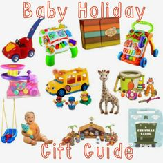 Baby's Holiday Gift Guide