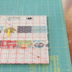 How to Square up a Quilt Block - The Crafty Mummy