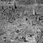 Jaw-Dropping Pen and Ink Cityscapes That Seem to Sprawl into Infinity by Ben…