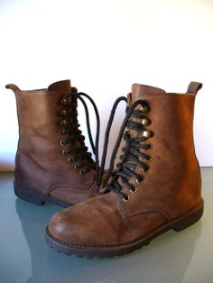 Vintage J Crew Roper  Boots by TheOldBagOnline on Etsy