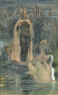Lohengrin - Walter Crane