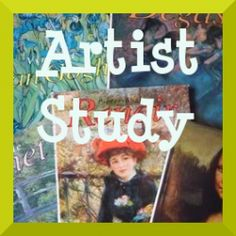 Artist Study -- Charlotte Mason Style, great links for questions to ask, art books, and printouts