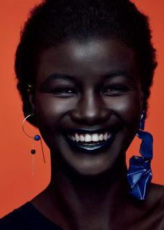 dark skin, makeup for black women, make up looks Beautiful Dark Skinned Women, My Black Is Beautiful, Beautiful People, Gorgeous Women, Black Women Art, Black Girls, Black Girl Magic, Pelo Natural, Dark Skin Girls