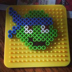 TMNT perler beads by itsmitchelltho