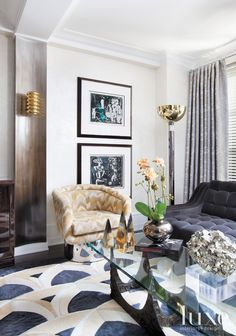 Post-War Gramercy Apartment with Mod Interiors | LuxeSource | Luxe Magazine - The Luxury Home Redefined