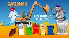 Skinny il delfino - Un mondo pulito - il riciclo  - stagione 2016  SKINN...