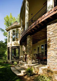 dual wrap around porches