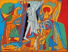 """Los colores de la pasión · PABLO PICASSO Video que pertenece a la serie Palettes, en el que se analiza """"Crucifixión"""", de Picasso, que se encuentra en el Museo Picasso, Paris."""