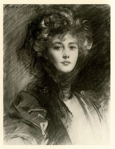 John Singer Sargent (1856-1925)  Lady Helen, Later Viscountess d'Abernon