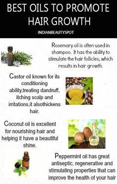 hair growth with oils