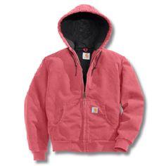 pink carhartt jacket :)