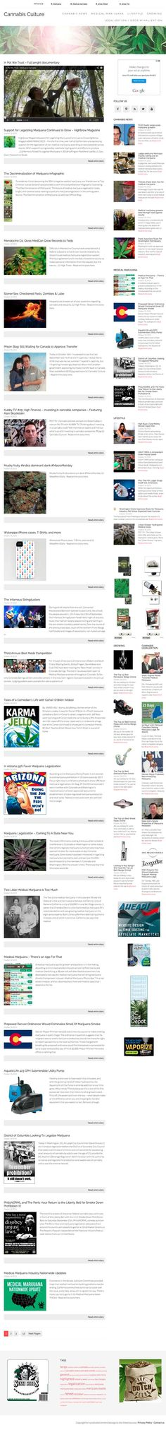 Cannabis and medical marijuana news and insights!  Fully automated site about hot cannabis topics such as medical marijuana, cannabis growing and legalization/decriminalization. Also marijuana news in general and popular 'cannabis culture'. All these five sub topics are so hot that you won't find problems finding very high paying CPA vendors (seeds, equipment,vaporizers etc.) but even with CPC ads only Google is paying up to 30 dollars per click for cannabis related keywords!