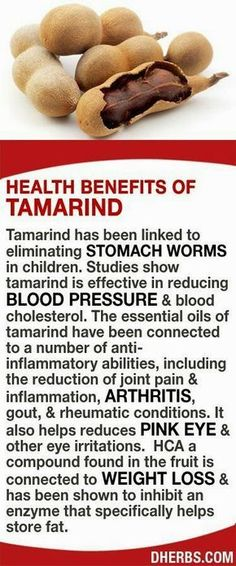 HEALTHCARE  Diet to lose weight  tamarind