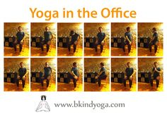 Shahar, one of the Om Yoga Nature Teacher, shares with you some simple postures (asanas) that you can practise on a chair in the office to liberate back problems and tensions.