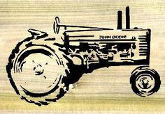 Since this scrollsaw pattern designer lives in farm country, tractors are all over the place and they found that antique tractors make very interesting portraits.  With a little imagination they can a...