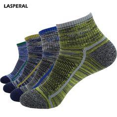 b4881a9ae LASPERAL 2017 New Women Men Sports Socks Free Size Thicker Thermal  Breathable Anti-sweat Socks