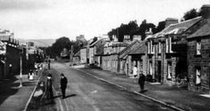 Old photograph of Bankfoot, Scotland