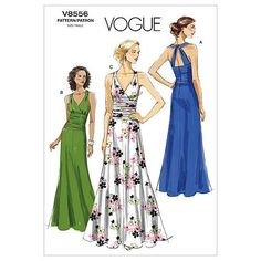 Vogue Patterns V8556 Size BB 8-10-12-14 Misses' Dress by The McCall Pattern Company, http://www.amazon.co.uk/dp/B004F9OS6O/ref=cm_sw_r_pi_dp_0rJetb1S808C6