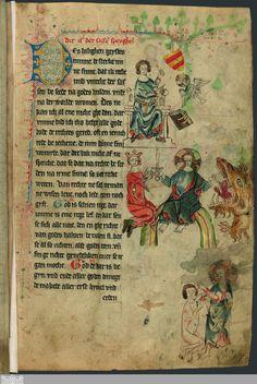 13 [6r] - Landrecht, erstes Buch - Vollbild - Digitalisierung Landesbibliothek Oldenburg - Digitale Sammlungen[pby]