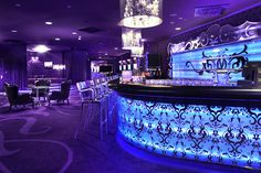 Restaurant design, Best Design Modern Bar With Lighting: The interior design of bar and restaurant