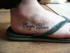 if I ever got a tat, this would be what/where...possibly a different font though