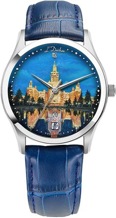Classic and exclusive Swiss watches L Duchen Swiss Made Watches, Quartz Watches, Stainless Steel Case, Unique Gifts, Sapphire, Miniatures, Hand Painted, Crystals, Night