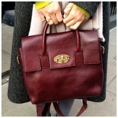 Mulberry Cara in Oxblood.  TLCStyle  TheLondonChatter Trendy Handbags 18018b7b24793